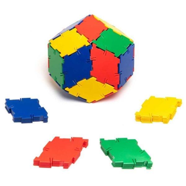 Polydron Bulk Sets 40 Rhombus