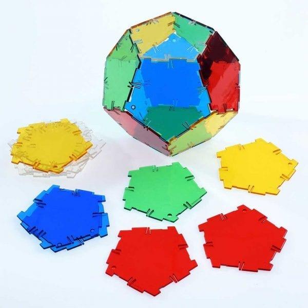 Crystal Polydron Bulk Sets 24 Pentagons