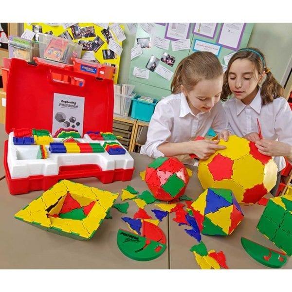 Polydron School Geometry Set
