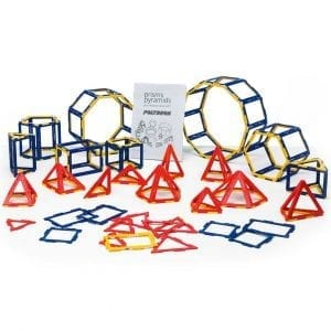 Polydron Frameworks Prism & Pyramid Set