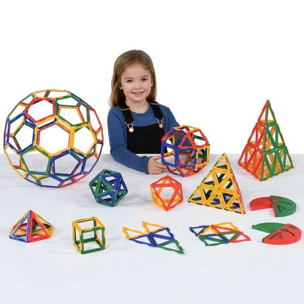 Polydron Frameworks Geometry Set