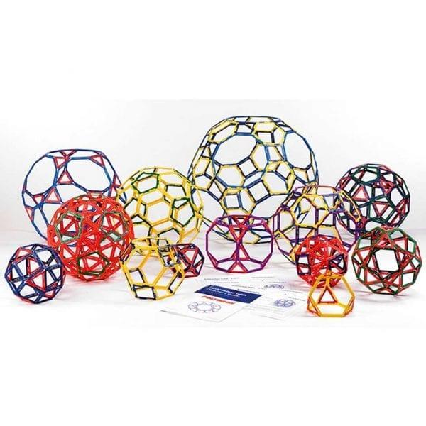 Polydron Frameworks Archimedean Solids Large Set