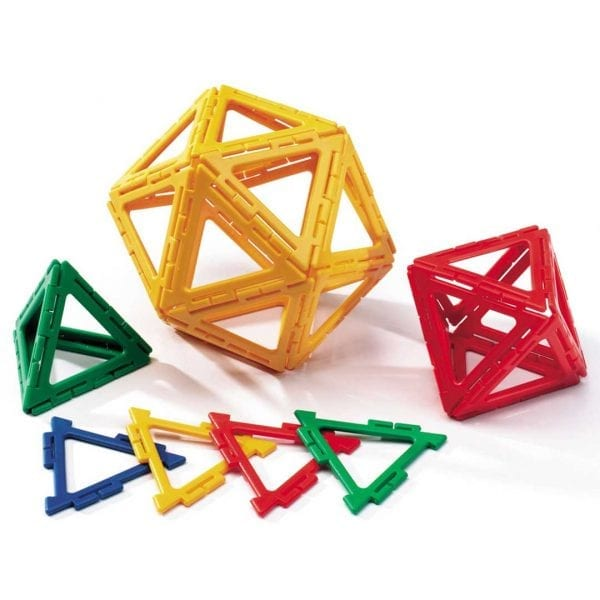Polydron Frameworks Bulk Sets 160 Equilateral Triangles