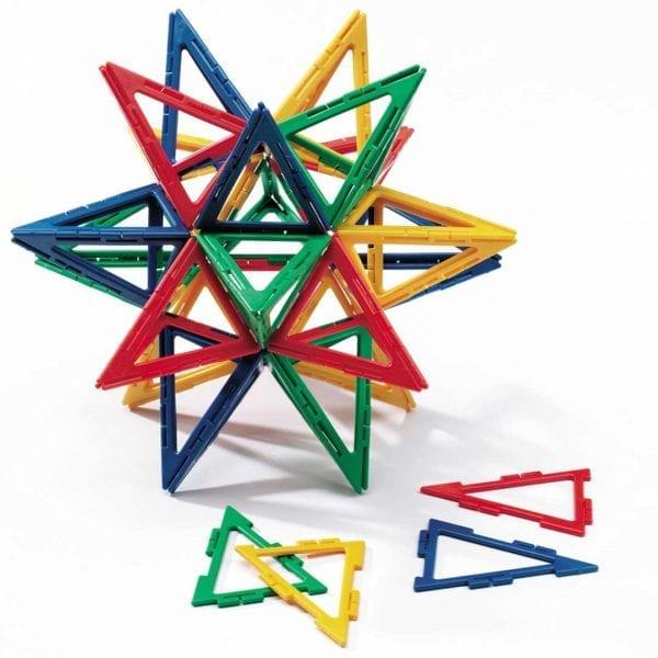 Polydron Frameworks Bulk Sets 80 Isosceles Triangles