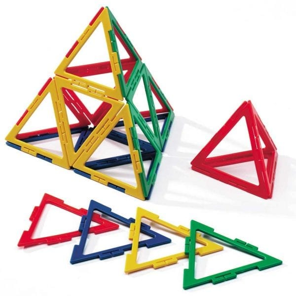 Polydron Frameworks Bulk Sets 60 Equilateral Triangles (Root 2)