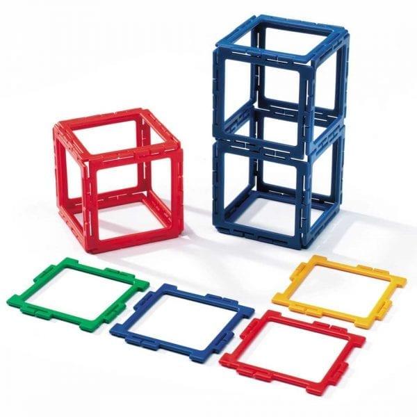 Polydron Frameworks Bulk Sets 80 Squares