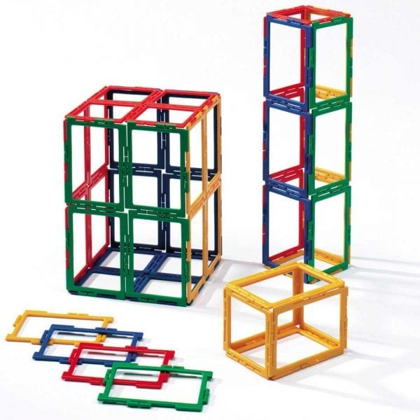Polydron Frameworks Bulk Sets 50 Rectangles