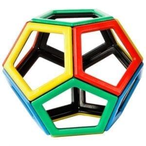 Magnetic Polydron Pentagon Set