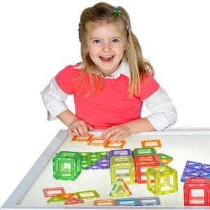 Translucent Magnetic Polydron 64 Piece Set