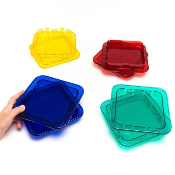 Giant Polydron Clip-In Coloured Windows