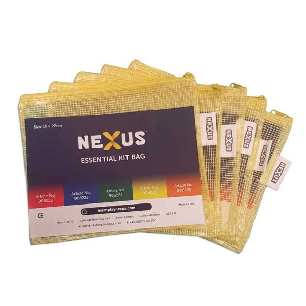 Nexus Plastic Zipper Bag