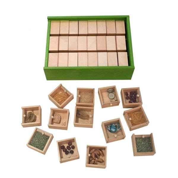 Nexus Fleximemo – Wooden boxes with clear perspex covers