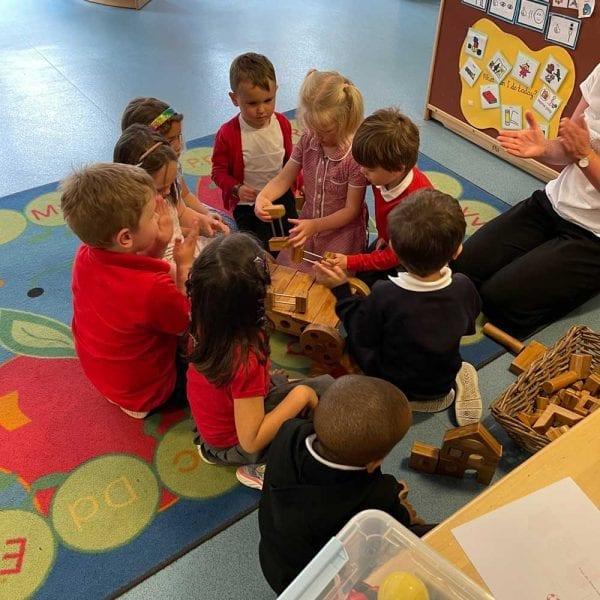 Classroom Wooden Blocks for Children