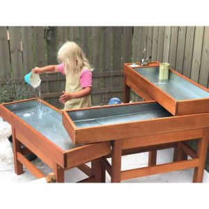 Classroom Outdoor Water and Sand Table with Pump