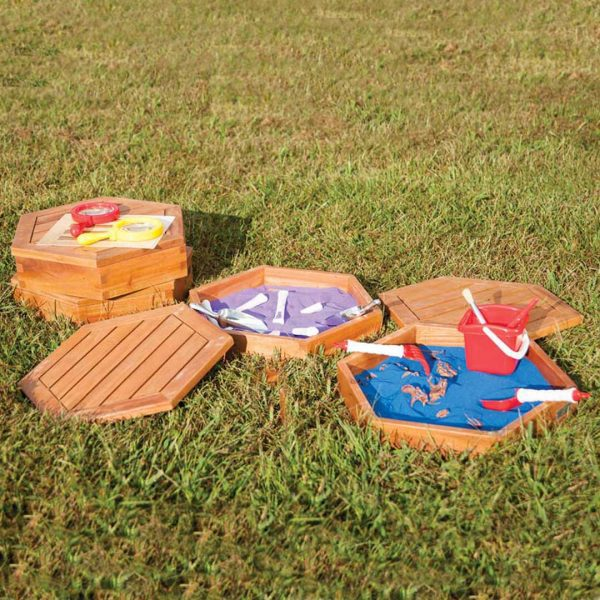 Outdoor Sand Trays Sey of 8