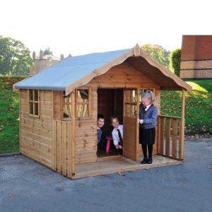 Childrens Cottage With Installation