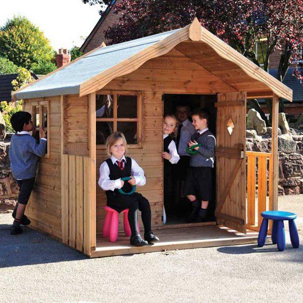 Childrens Den Playhouse With Installation