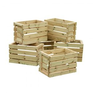 Activity Play Crates Pack of 6