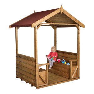 Childrens Playground Shelter With Installation