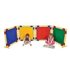 4 Square Coloured Panels