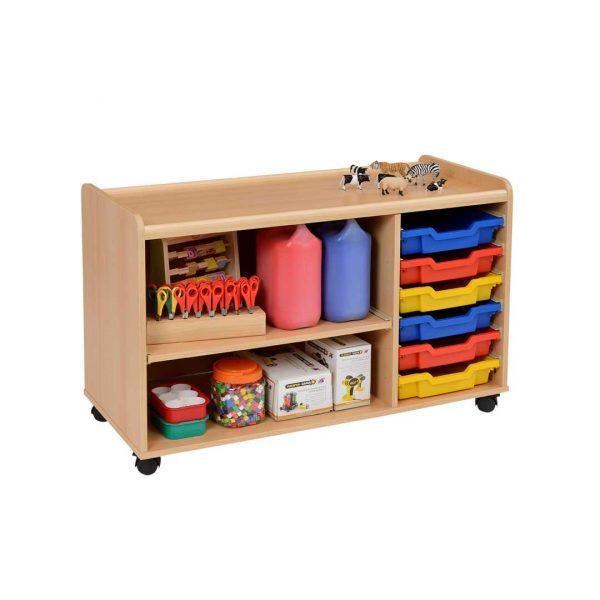 3 Deep Tray/Shelf Storage Unit