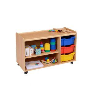 Shallow Tray/Shelf Storage Units