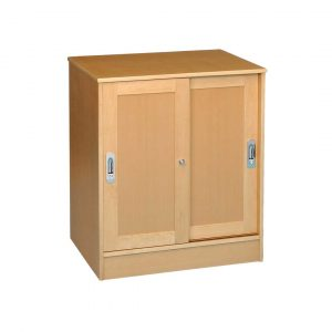 Medium Cupboard With Sliding Doors
