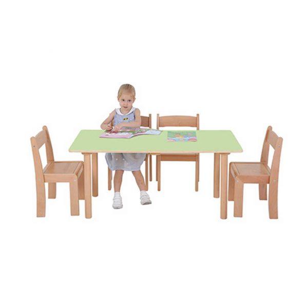 Pastel Rectangular Table