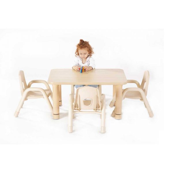 Toddler Rectangular Table 800mm