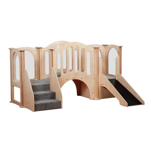 Hide n Slide Kinder Gym