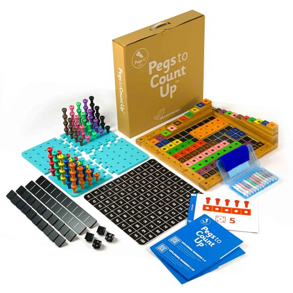 Pegs to Count Up Complete Set