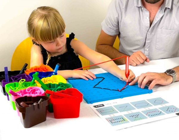 Pegs to Paper: Exercises for Handwriting Set