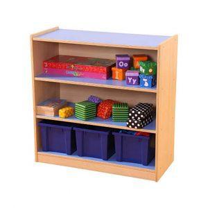 Pastel 3 Shelf Bookcase