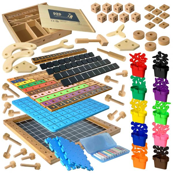 Pegs to Construction Complete Set
